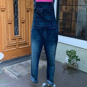 Free People Denim Overalls. Size 30.